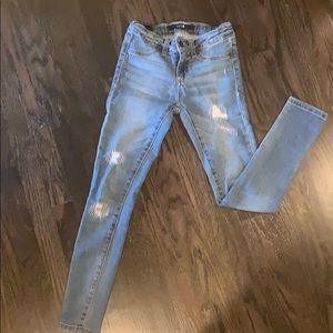 Girls mock distressed  Joes Jeans